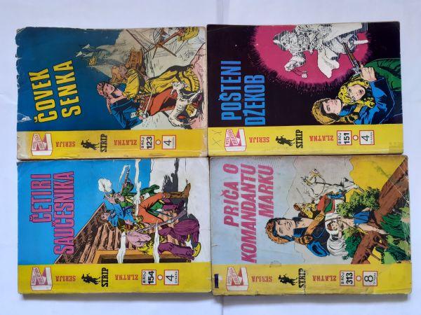 #Lot od 4  stara stripa ZS K.Mark od 1 kune!